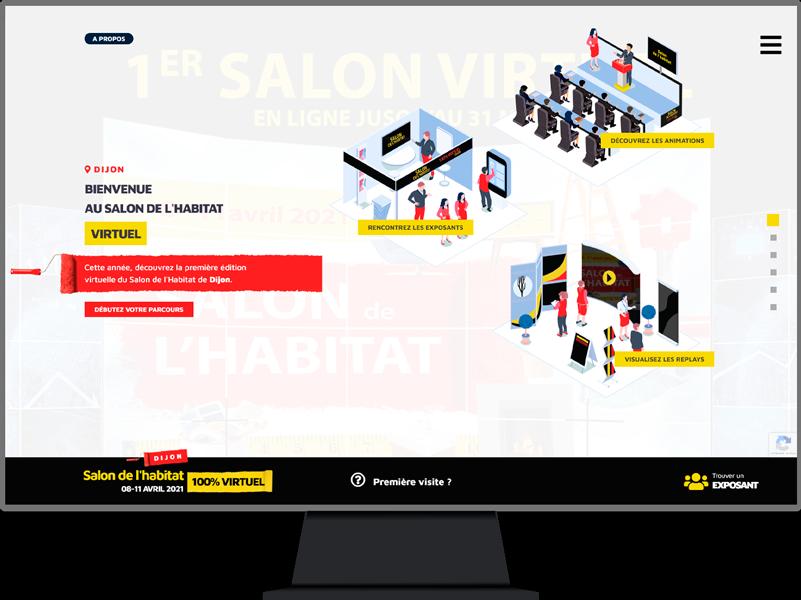 Salon de l'habitat virtuel de Dijon